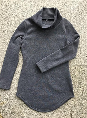 Dark Coolred Piles Women Collar Swallowtail Hip Dress Solid Package Bodycon Grey zqCzwfHxZ7