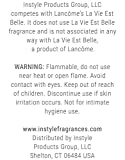 Instyle Fragrances Inspired by Lancôme's La Vie