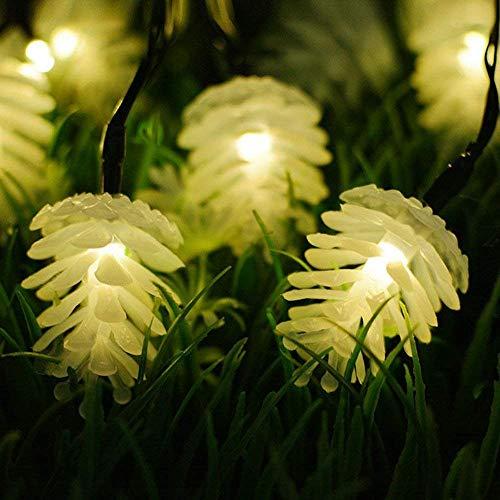 pine cone garden lights - 2