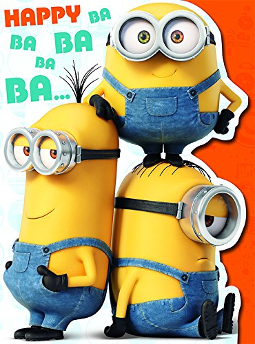 Image Unavailable Not Available For Color Minions Movie Mm026 Greeting Card