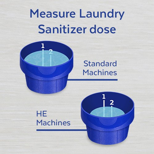 Lysol Laundry Sanitizer Additive, Crisp Linen, 90oz, bacteria-causing laundry odor eliminator, 0% bleach laundry sanitizer