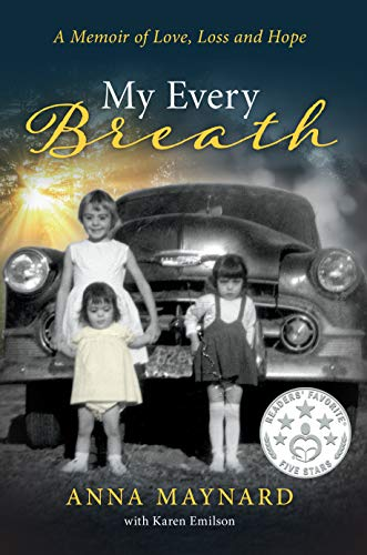 Book: My Every Breath - A memoir of love, loss and hope by Anna Maynard