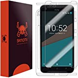 HTC One X9 Screen Protector + Full Body, Skinomi TechSkin Full Coverage Skin + Screen Protector for HTC One X9 Front & Back Clear HD Film