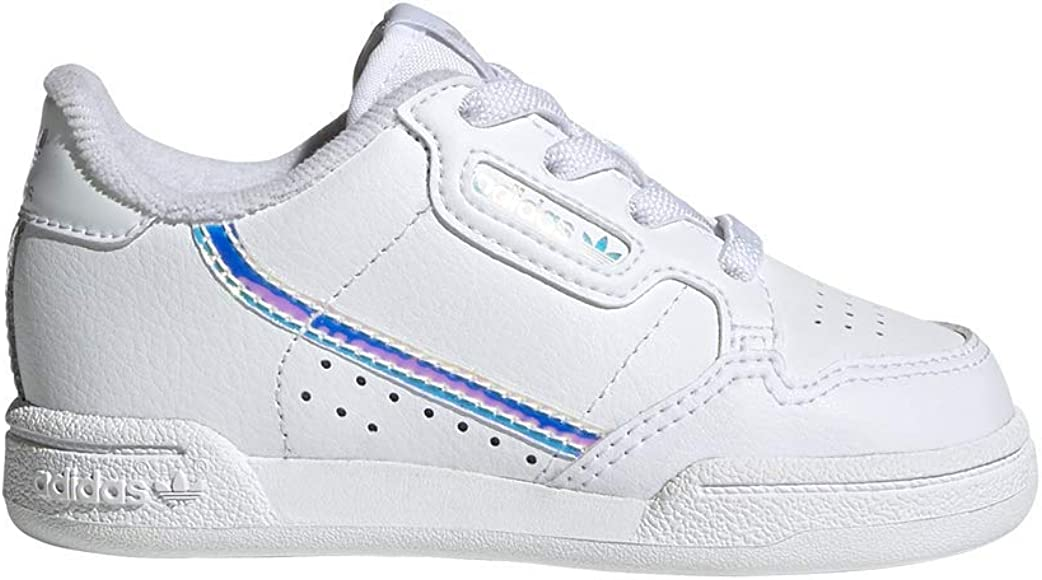 Adidas Originals White Upper:, 100% Leather, Outsoles, 100% Rubber Leather trainers with laces Continental 80 |
