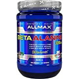ALLMAX Nutrition - 100% Pure Maximum Strength + Absorption - Beta Alanine - 400 Gram