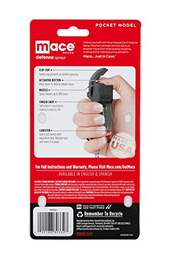 Mace Brand Self Defense Pepper Spray Pepper Guard Pocket Model