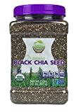 #2: WunderBasket Organic Black Chia Seeds(Pack of 1)