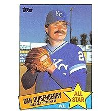 Dan Quisenberry baseball card (Kansas City Royals World Series Champ) 1985 Topps #711 All Star