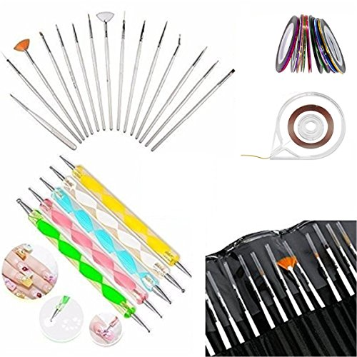 Glam Hobby 20pc Nail Art Manicure Pedicure Beauty Painting P