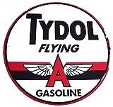 Tydol Gasoline Flying A Sign