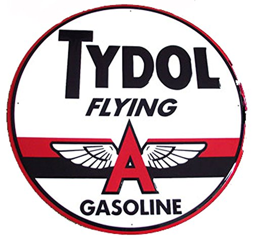 Tydol Gasoline Flying A Sign