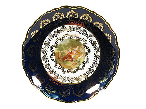 - Madonna Cobalt Romeo & Juliet Dinner Plate 8.25 in /21 cm
