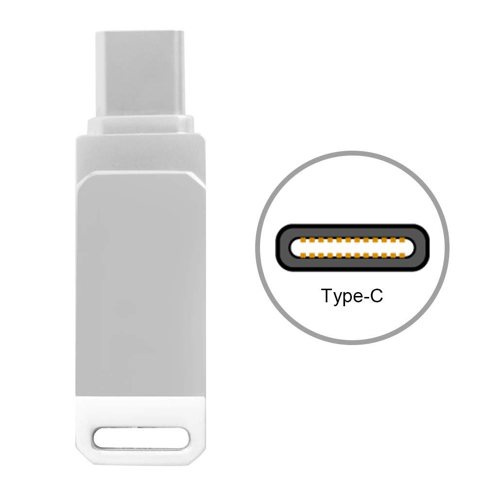 Kreema Lettore di schede TF USB/Type-C Micro SD Adattatore per Memoria 2.0 PC Laptop Smartphone MacBook PRO Samsung C9pro Note7 Huawei P10 Plus ULD-AC1482