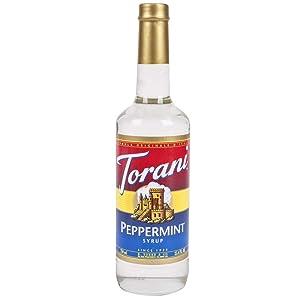 Torani Peppermint Syrup, 750 ml