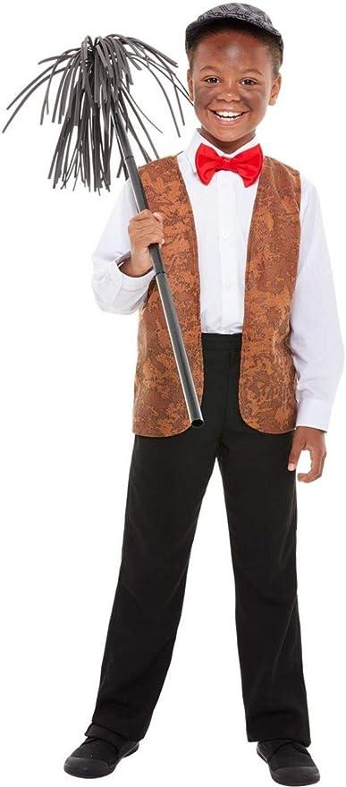 Fancy Me Disfraz de Chimenea Victoriana para niños y niñas: Amazon ...