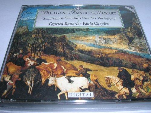 Mozart Six Viennese Sonatas + K511, 455, 333, 25, 310 Cyprien Kalsaris, Fania Chapiro (2 Cd box Set) (Astoria)
