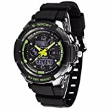 Compia Electronic Sports Watch with Multi Function Digital LED Water Resistant Quartz Digital Watches for men/women/children