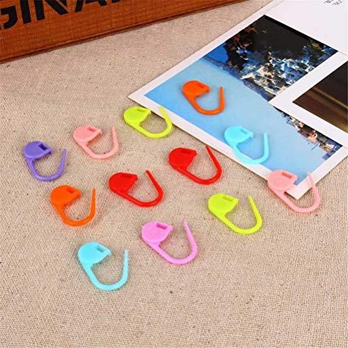 Edf Foam Jet - Pins & Pincushions - 100pcs Mix Color Plastic Knitting Locking Stitch Markers Crochet Latch Needle Clip Hook - Circular Foam 800ma Hook Edf Density Crochet Pin Pin Jet Hand Sew Stitch Knit Brooc