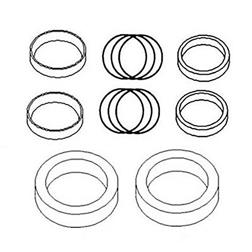 190-21360 New Owatonna Mast Fork Lift Tilt Cylinder Seal Kit 770 Rod & ()