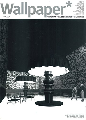 Marcel Wanders Wallpaper (Wallpaper Magazine (May, 2007) Marcel Wanders Limited Edition Cover)
