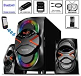 Boytone BT-326F, 2.1 Bluetooth Powerful Home Theater Speaker System, with FM Radio, SD