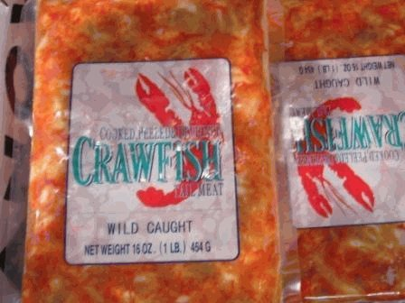 Crawfish Tail Meat Wild Caught Frozen 3Lbs.
