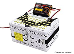 Holy LiPo fire Batman... That's one line you'll never hear when you have a Bat-Safe.Designed by engineers who know how dangerous a LiPo battery fire inside a home can be. The guys at Bat-Safe are RC enthusiast and came up with a safe and awes...