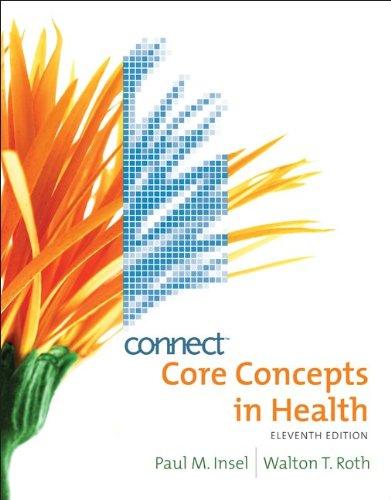Connect Core Concepts In Health Brief Version Insel/Walton 13th Ed Shipped Fast