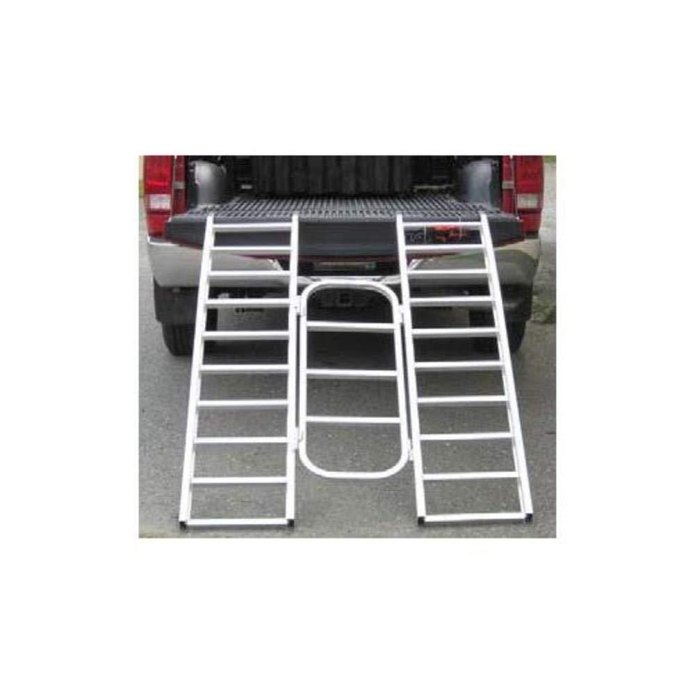 Automatic Distributors AR04T 6ft Aluminum Tri-Fold Arched Ramp