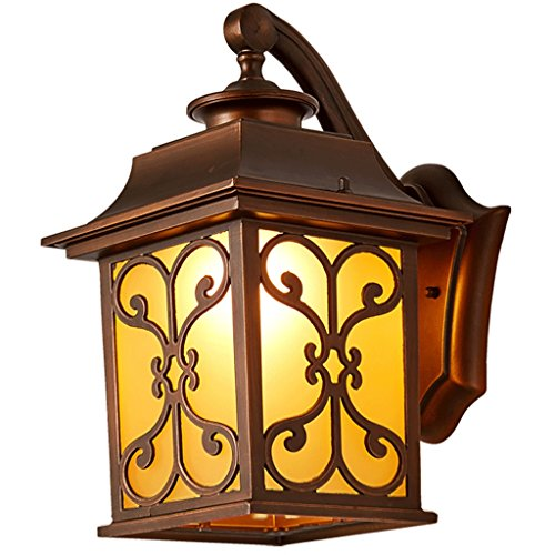 Mobeka LED Glass Wall Lamp Garden Outdoor Balcony Restaurant Waterproof Wall Lamp