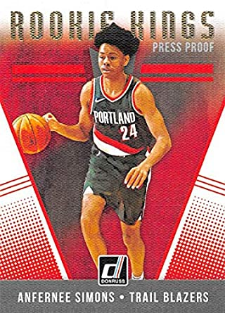 221e040e6d621 Amazon.com: 2018-19 Donruss Rookie Kings Press Proof Basketball Card ...