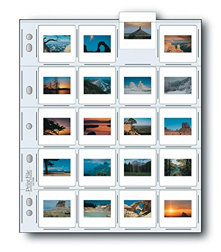Printfile 20 35mm Slides 10 Mil 25 Pack - Printfile 2X220HB25 by Print File