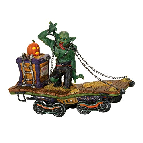 Department 56 Snow Village Halloween Beast Lit_house 8.27 (Dept 56 Halloween Train)