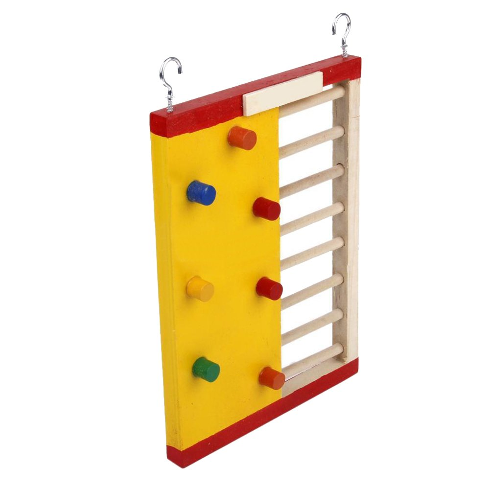 TTnight Small Pets Climbing Ladder, Funny Molar Supplies Exercise Toy for Pet Rat Hamsters