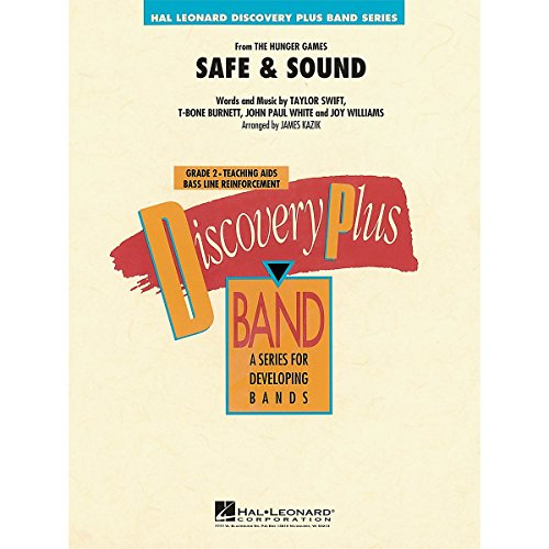 Hal Leonard Safe & Sound (From Hunger Games) - Discovery Plus! Band Series Level 2