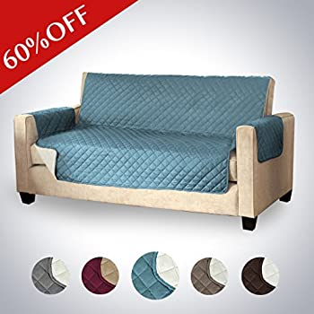 Reversible Water Repellent Furniture Protector, Soft And Suede Like Finish  Crafted Sofa Protector