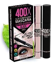 3D Fiber Silk Lash Mascara by Mia Adora - Best for Thickening and Lengthening - Highly Water-Resistant Smudge-Proof Yet Gentle Eyelash Formula - Non-Toxic Hypoallergenic - FREE Bonus Eyelash ebook