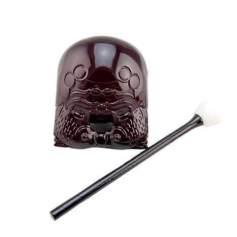 Amazon.com: SUPVOX - Bloque de madera budista con forma de ...