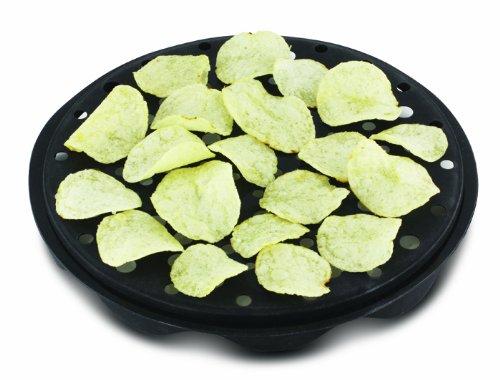 Apta para microondas TheBigShip Crisp para hacer juego vt-02393. Make de aceite-incluye patatas en unos minutos.