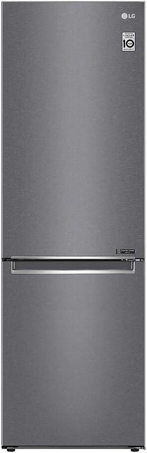 Capacit/à Lorda//Netta 419//384 Colore Inox LG Frigorifero Combinato GBP62DSNFN Total No Frost Classe A++
