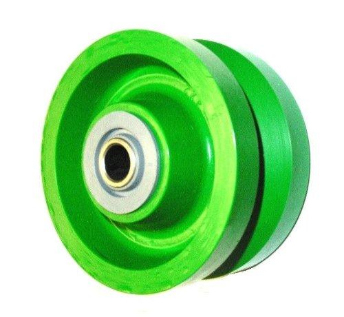 Set-of-4-6-x-2-Polyurethane-V-Groove-Wheel-with-58-ID-Needle-Bearing