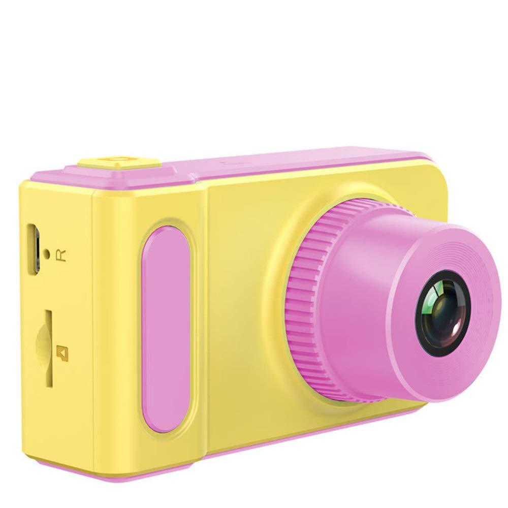 チャイルドカメラ キッズキッズカメラ2.0インチスクリーンミニデジタルカメラ (Color : Blue) B07QWP2N1F Pink