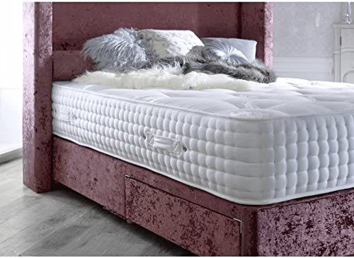 Sleep Factory 3000 Memory Foam Orthopaedic Pocket Sprung Mattress - Hand Tufted