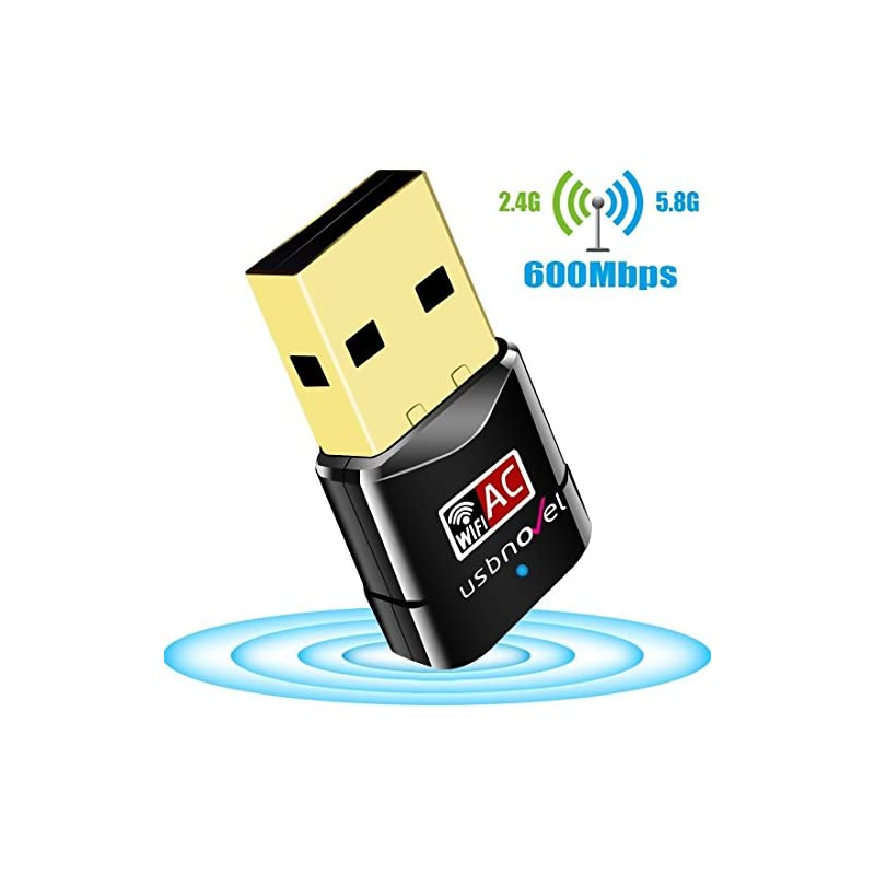USB WiFi Adapter 600Mbps USBNOVEL Dual B