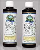 FLAX SEED OIL LIQUID, Liquid Dietary Supplement, Kosher (Pack of 2) 8 FL OZ. Each ''FAST SHIPPING''
