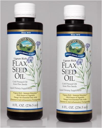 FLAX SEED OIL LIQUID, Liquid Dietary Supplement, Kosher (Pack of 2) 8 FL OZ. Each ''FAST SHIPPING''