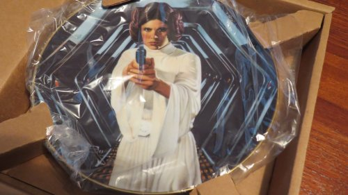The Hamilton Collection Star Wars Trilogy Collector Plate: Princess Leia