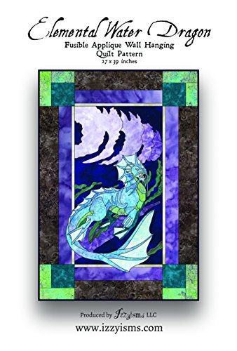 Quilt Pattern Elemental Water Dragon 27