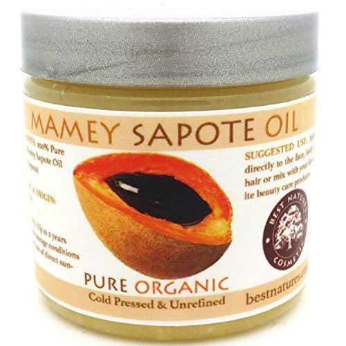 Mamey Sapote Oil Pure Organic Cold Pressed Unrefined 8 fl oz 236 ml