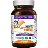 Vitamin C for Immune Support – New Chapter Activated C Food Complex + Organic Non-GMO Ingredients - 60 ct